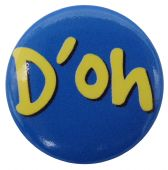 D-oh - Button Badge